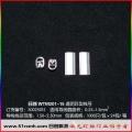 WTM201/15(0.25-1.5)透明异型线号