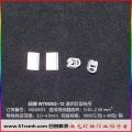 WTM202/12(0. 5-2.5)透明异型线号